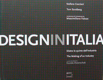 Design in Italia - The Making of an Industry livre,book,buch,boek,libro