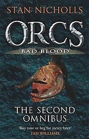 Orcs Bad Blood: The Second Omnibus, Nicholls, Stan, New Book