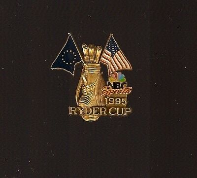 Pin'S Golf Nbc Sports 1995 Rydercup  ***** No Pin'S Roland Garros