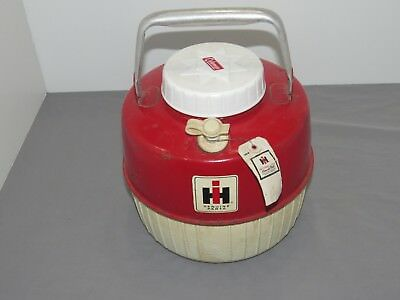 Vintage International Harvester IH Farmall Coleman Water Cooler Tractor Tag RARE