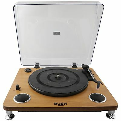 Bush Pro Turntable with Speakers.