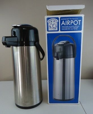 Bakers & Chefs Commerical Airpot 2.2L (74.4 oz) Never Used