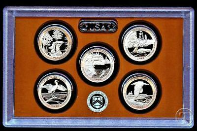 2018 S Clad Proof Quarter Set - NO Box/COA IN STOCK
