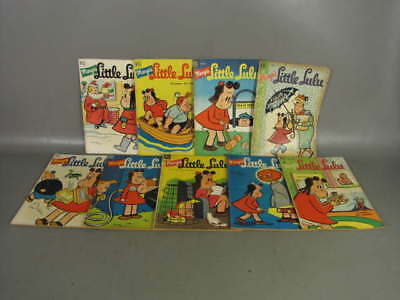 9 MARGE'S LITTLE LULU GOLDEN AGE COMIC BOOK ISSUEs 10 29 36 40 42 46 47 62 63