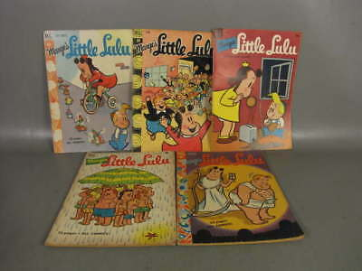 5 Marge's Little Lulu Golden Age Comic Book Issue Coll Incl # 12 15 19 38 & 60