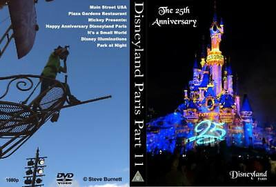 Eurodisney - Disneyland Paris Part 11 - The 25th Anniversary DVD or Blu-Ray NEW