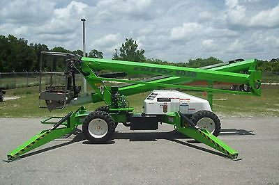 """Nifty SD50 Boom Lift, 56"""" Work Height, Hybrid Dual Power,4 WD,Leftover 2017"""
