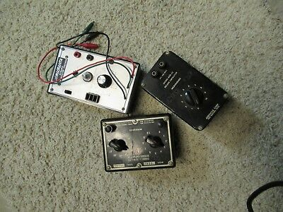 3 - Old pieces of Test Equipment - take a look- hope you can use !