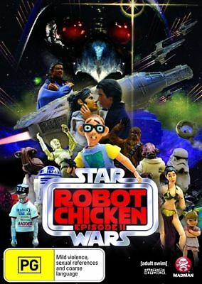 Robot Chicken - Star Wars Special 2 (DVD, 2009), BRAND NEW SEALED REGION 4