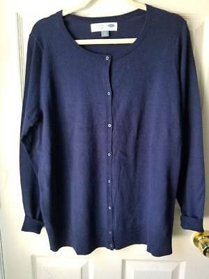 Old Navy MATERNITY Button Front Cardigan Sweater SIZE L