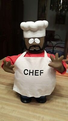 RARE South Park DANCING CHEF, Battery Op Works Great, CLEAN Pre-Owned Gemmy 1999