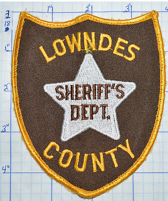 Mississippi, Lowndes County Sheriff's Dept Patch