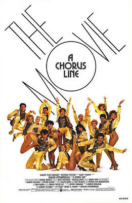 A Chorus Line (1985) original movie poster - single-sided - rolled