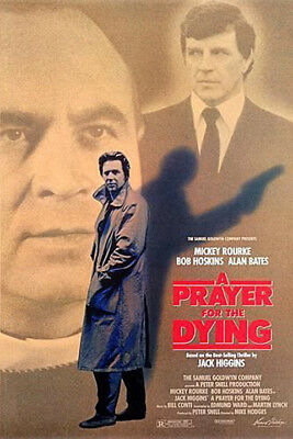 A Prayer for the Dying (1987) original movie poster - single-sided - rolled