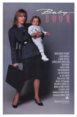 Baby Boom (1987) original movie poster - single-sided - rolled