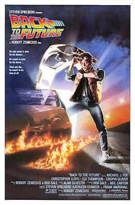 Back to the Future (1985) original movie poster - single-sided - rolled