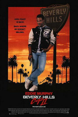 Beverly Hills Cop II (1987) original movie poster - single-sided - rolled