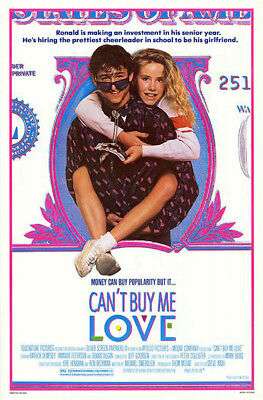 Can't Buy Me Love (1987) original movie poster - single-sided - rolled