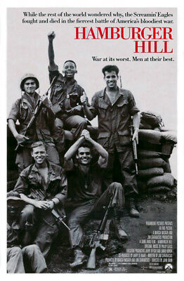 Hamburger Hill (1987) original movie poster single-sided rolled