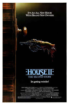 House II: The Second Story (1987) original movie poster single-sided rolled
