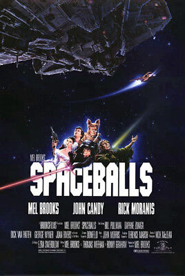 Spaceballs (1987) original movie poster single-sided rolled