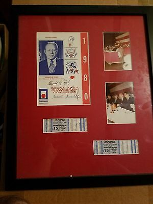 President Ford/Bob Dole signed Memorbilia PLUS President Carter signed Book