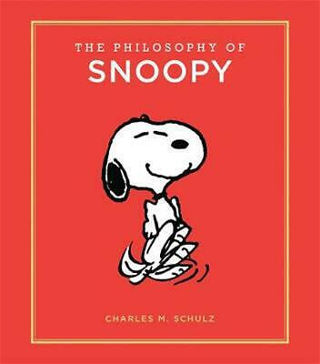 Philosophy of Snoopy by Charles M Schulz Hardcover Book Free Shipping!
