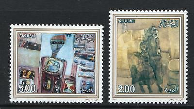 Algeria 1987 Paintings by Mohammed Issiakhem - Mint hinged set - (435)