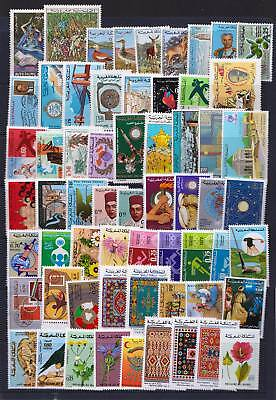 Morocco Early 1970s Good selection of mint hinged stamps  - (440)