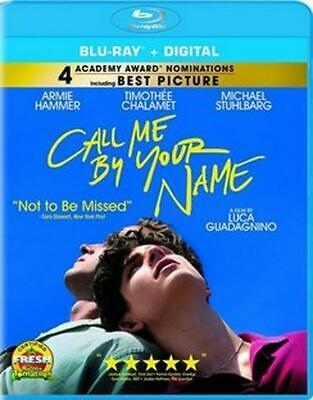 Call Me by Your Name - Blu-Ray Region 1 Free Shipping!