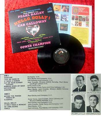 LP Pearl Bailey in Hello Dolly! w/ Cab Calloway 1967