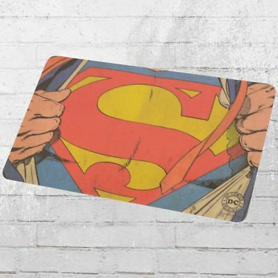 Logoshirt 4er Pack Frühstücksbrett DC Comics Superman Man of Steel Set Brett