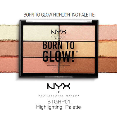 NYX BTGHP01 Born To Glow Highlighting Palette