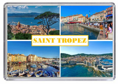 Saint Tropez, France Fridge Magnet 01