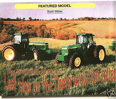 John Deere 60 series 4760 and 4960 tractor Green magazine