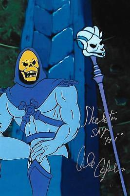 Alan Oppenheimer auto/signed Skeletor Smurfs Merman Legend Actor Rare LOOK!