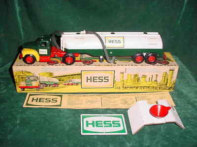 1964 Collectible Christmas Xmas Hess Tank Trailer Truck 1964 Tanker Truck Toys