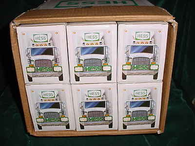 87 Xmas Christmas Collectable Trucks 1987 Hess Barrel Truck Toy Bank From Case