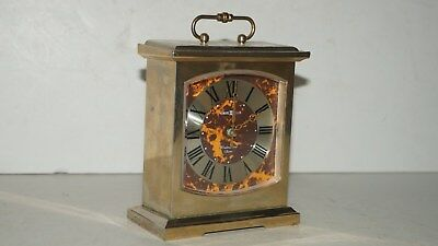 Beautiful Howard Miller Westminster Chime Battery Operated Desk Mantel Clock