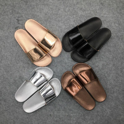 Summer Sandals Slides Women Flat Bow Shoes Fashion Slippers Flip Toe Open Flops