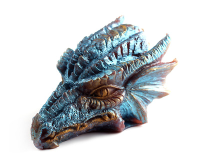 3D Dragon Head Silicone Mold Chocolate Clay Polymer Soap Diy Silicon Mould