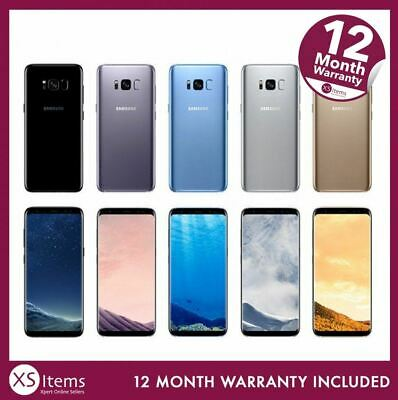 Samsung Galaxy S8 + Plus SM-G955F 64GB Smartphone Mobile Grey/Black Unlocked/O2