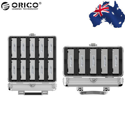 """ORICO Aluminum 3.5"""" HDD Hard Disk Drive Protection Box Storage Case with Locking"""