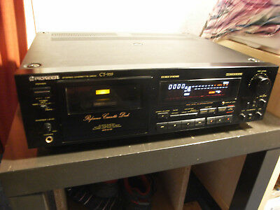 PIONEER Reference Casette Deck CT 959