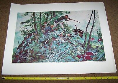 Usmc Art Collection Picture Poster, Colonial Marines *nice* #2