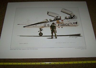 Air Force Art Collection Picture Poster *nice* #3