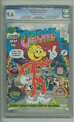 Tales from the Ozone #1 (CGC 9.6) OW/W pages; Robert Crumb; 1969 (c#06441)