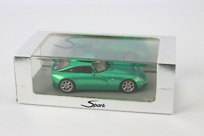 Spark TVR T350 C Pearl Green 1:43