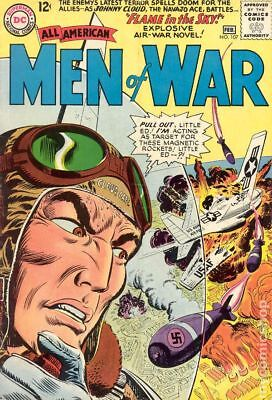 All American Men of War #107 1965 VG 4.0 Stock Image