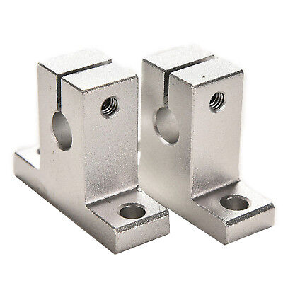 SK8/10/12 Linear Rail Bearing Shaft Guide Support Bracket Clamp Alloy New Newest